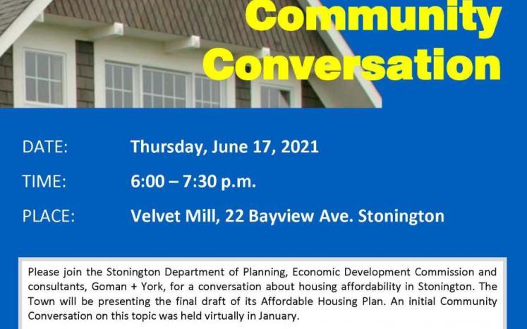 Community Conversation 6.27.21